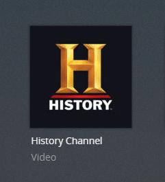 history plex channel screenshot