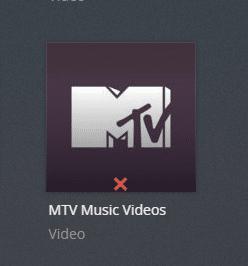 mtvmusicvideos plex channel screenshot