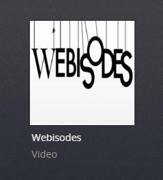 Webisodes plex channel screenshot