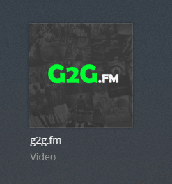 g2gfm plex channel screenshot