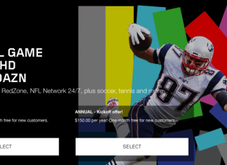 DAZN Sports Streaming Service