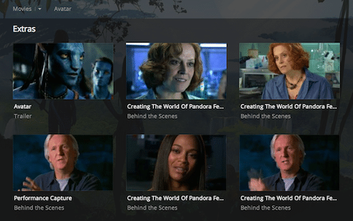Extras help get the most out of Plex
