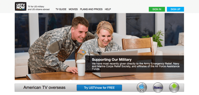 USTVNow for the troops?