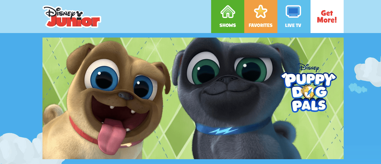 Puppy Dog Pals on Disney Junior