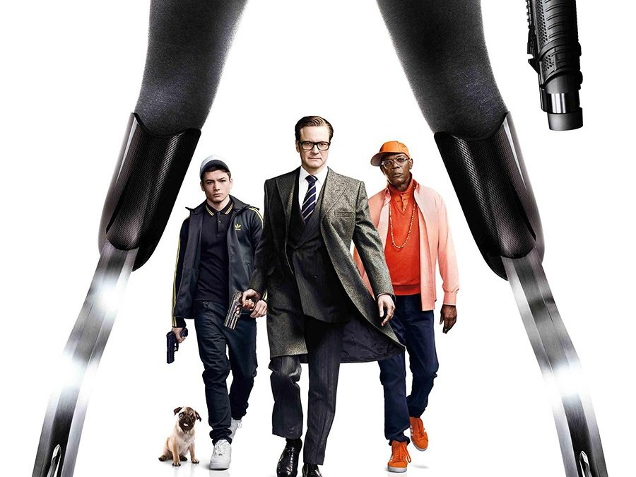 Ep #018 Kingsman w Michelle from Hello Magazine and Adam from Fixer International