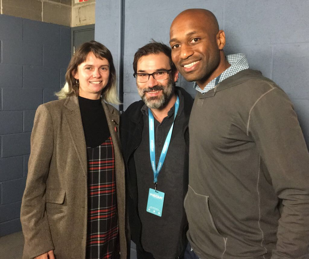 Adam Buxton with Helen Sadler And Kobi Omenaka From Flixwatcher Podcast