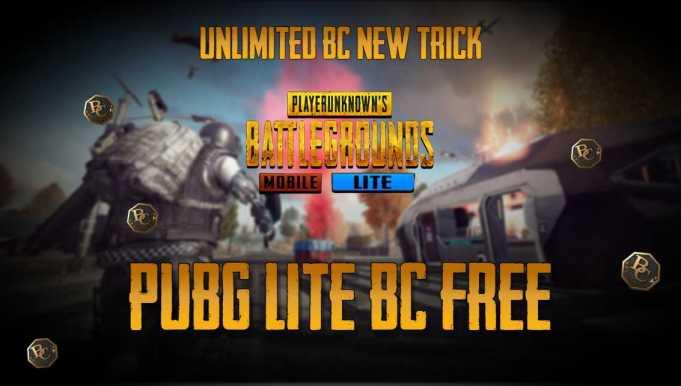 PUBG LITE Free BC | PUBG MOBILE LITE Free BC
