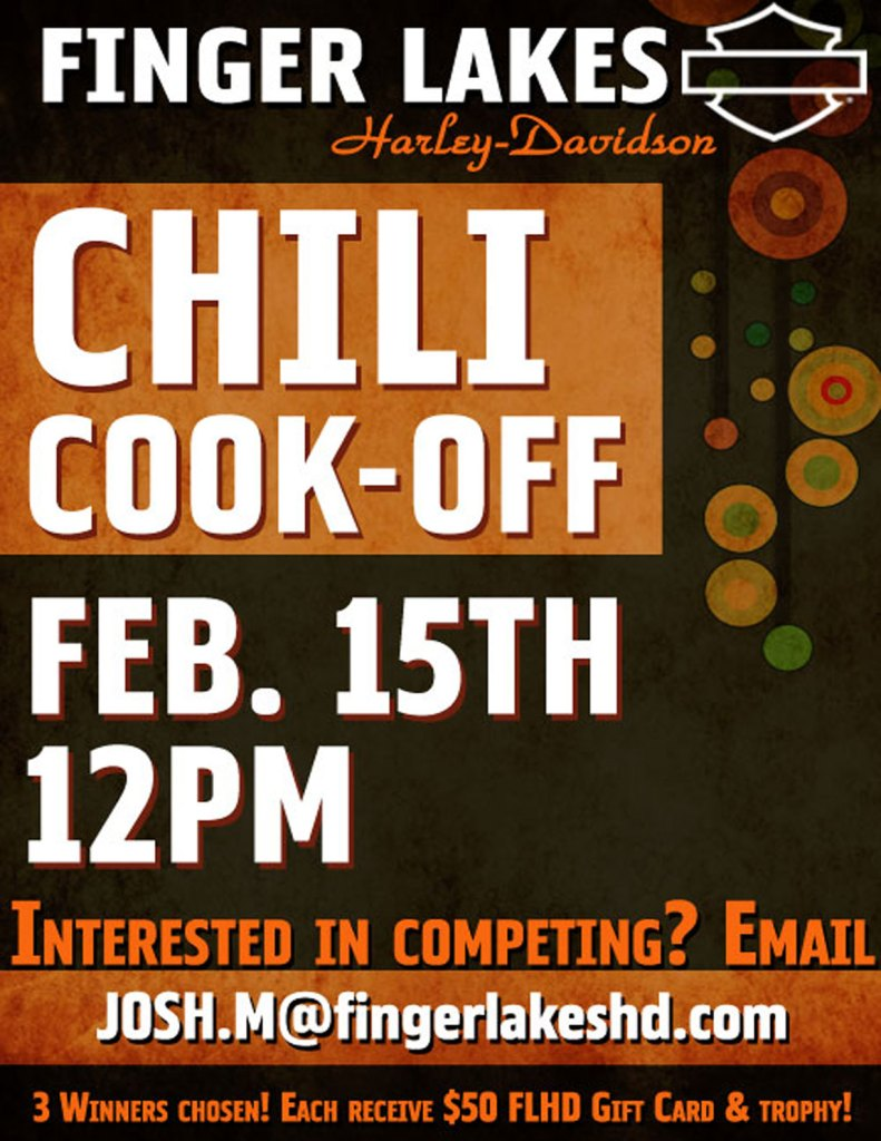 Chili Cookoff Flyer