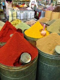Spices at the Mellah Market