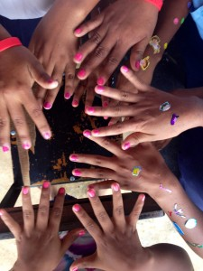 Getting your nails painted is a popular activity anywhere in the world.