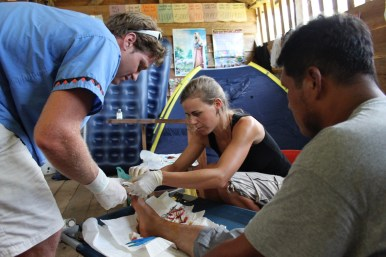 Hangnail Surgery in Remote Mountain Village