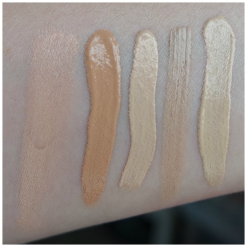 favorite concealers swatch