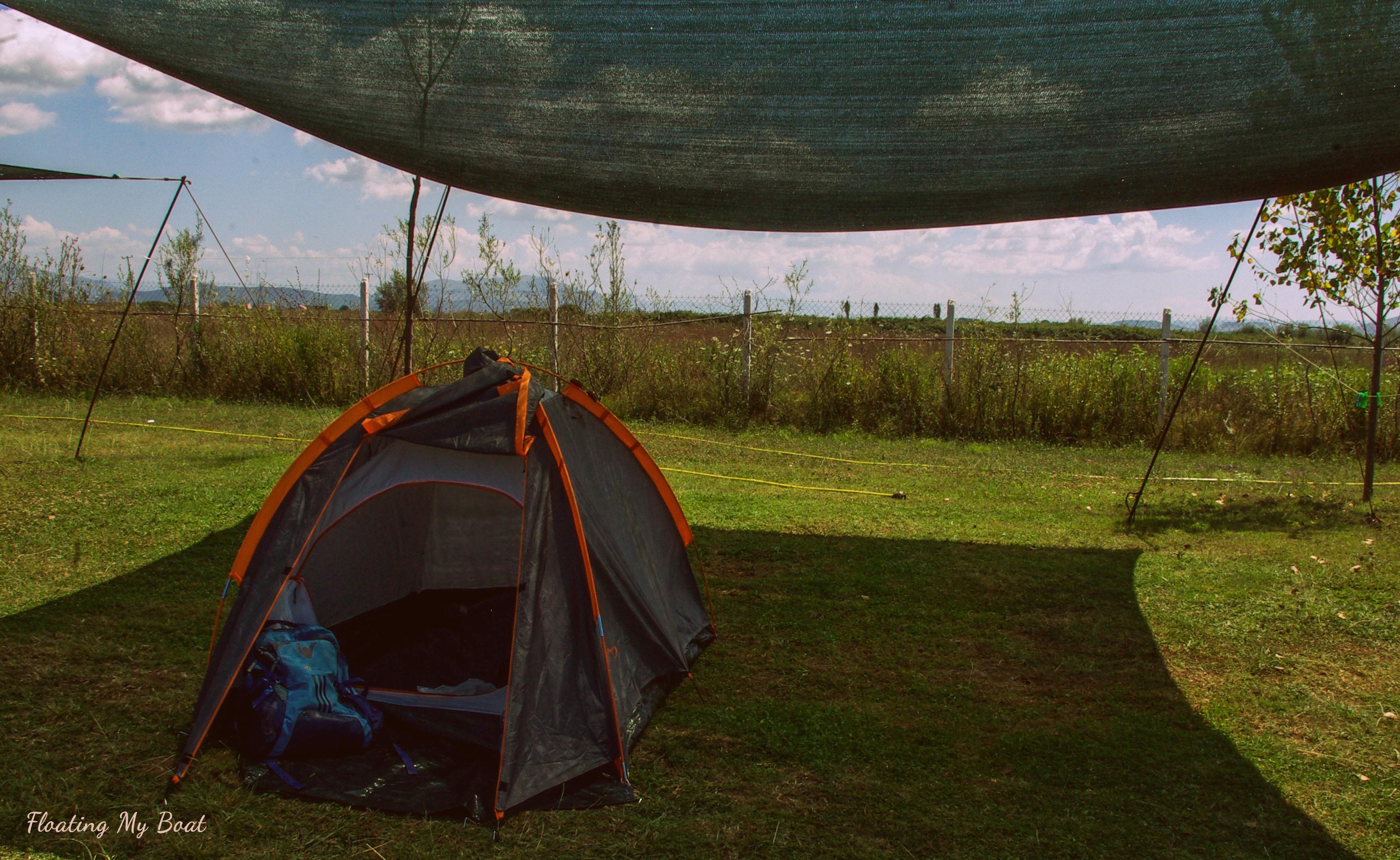 Lake Shkodra camping