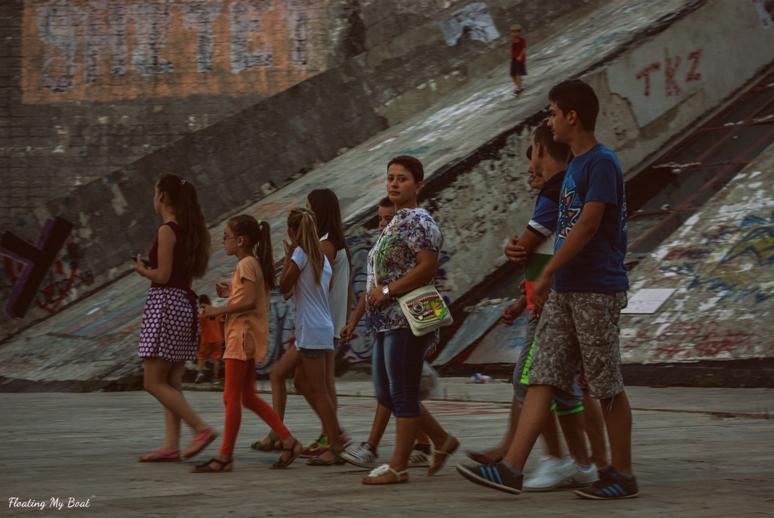 Ulice Tirany na zdjęciach