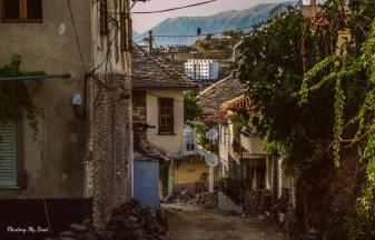 Gjirokastër, Albania, things to do in Gjirokastër, female solo travel, travel blog, travel tips, budget travel, street photography