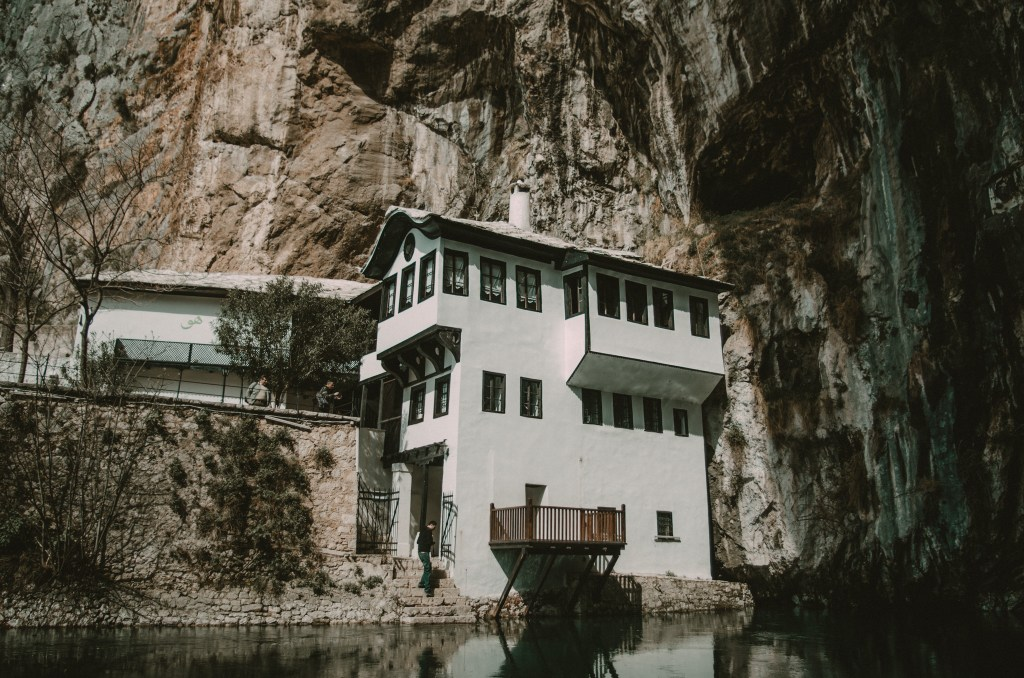 places-to-visit-bosnia-herzegovina-blagaj-dervish-house