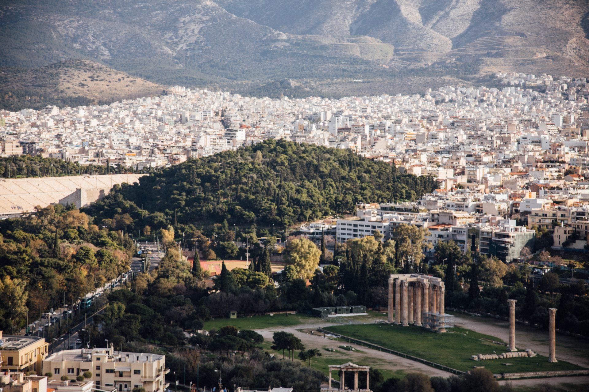 widok-z-akropolu-ateny