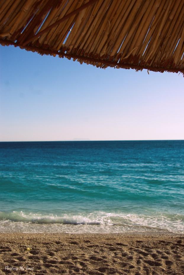 beautiful beach Albania