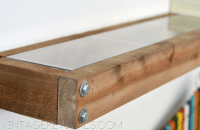 Rustic floating shelves  4 designs you can either buy or ...