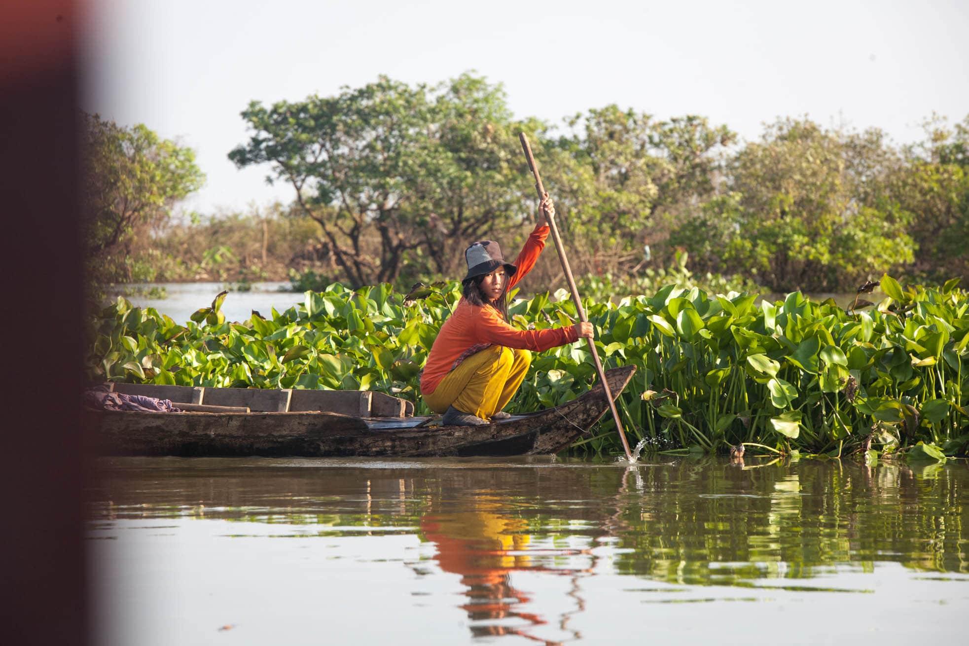 Row Boat Siem Reap