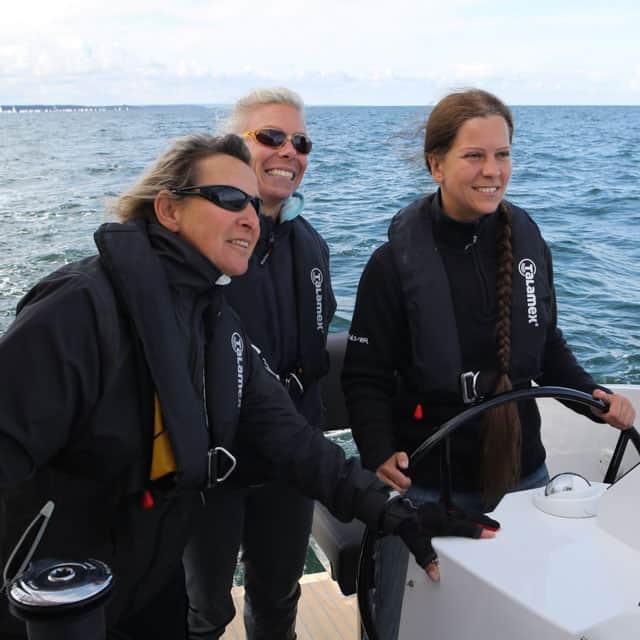 Frauensegeltraining mit Mareike Guhr