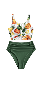 best swimsuit for waist control