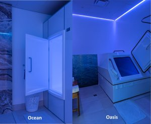 Float Rooms Oasis and Ocean