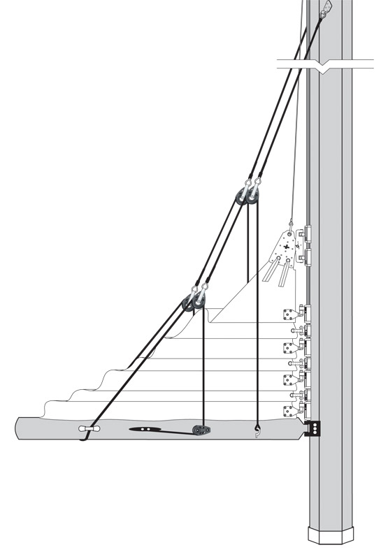 hunter sailboat rigging diagram one way lighting circuit new blog 2: lazy jacks