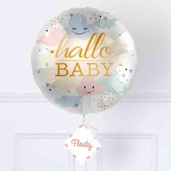 Luftballon zur Geburt zoom
