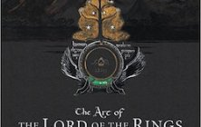 Cover of The Art of Lord of the RIngs, ed. by Christina Scull and Wayne Hammond, showing Tolkien's jacket design for The Lord of the Rings of