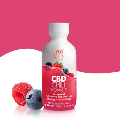 CBD Shots CBD Chill Power Mixed Berries