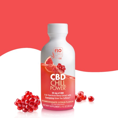 CBD Shots CBD Chill Power Grapefruit Pomegranate