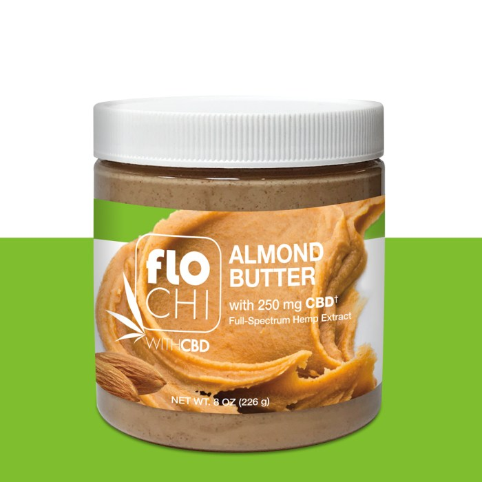 FloChi CBD Almond Butter Spread