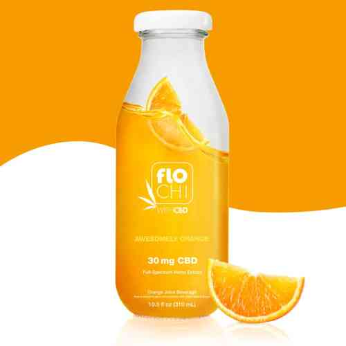 FloChi CBD Juice CBD Orange Flavored Juice