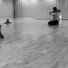 In the making for flockOmania by jewellery artist Zoe Robertson with dance artist Natalie Garret Brown