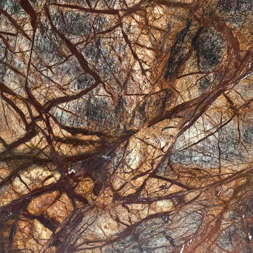 Rainforest Kahverengi Mermer