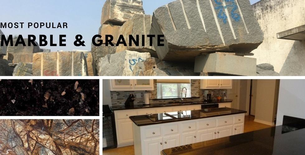 26 más populares de granito y mármol en los Estados Unidos  19273c580551