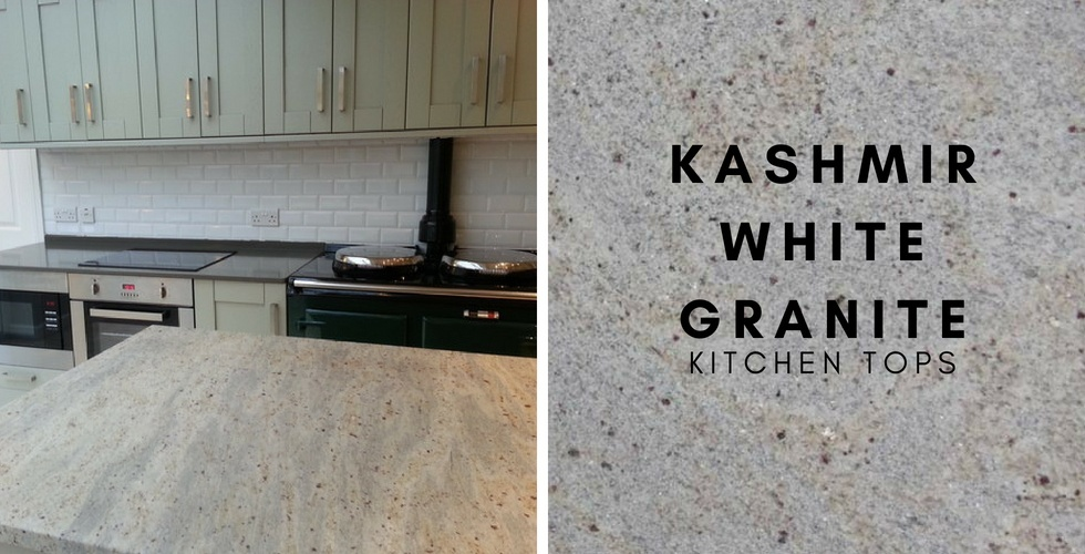 Kashmir White Granite Kitchen