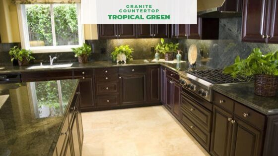 Green Granite Countertops Best 9 For