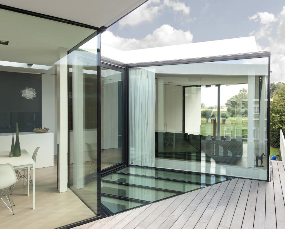 GRAUX  BAEYENS Architecten  House K  Flodeau