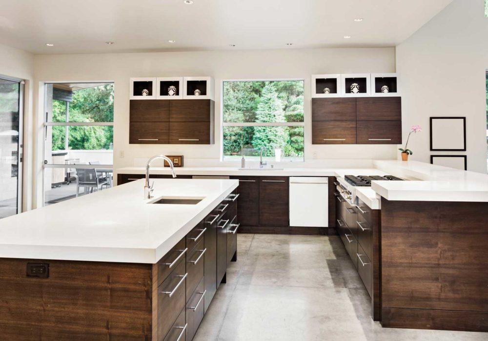 kitchen countertops ceiling fan floform portland replace your quartz and corian span style font size