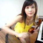 氣質美女林逸欣一人同時演奏三種樂器