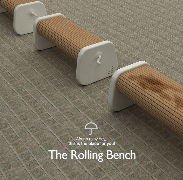 防溼旋轉長凳