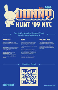 Dunny Hunt 2009 Poster