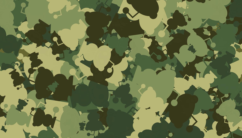 Camouflage pattern generator – Flogging English