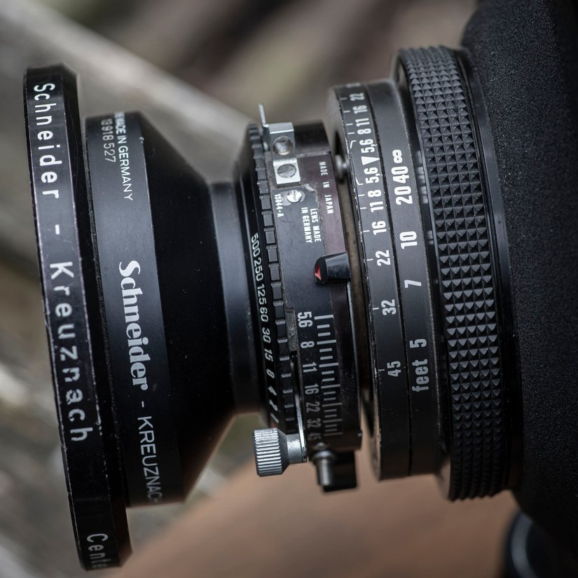 Schneider Lens and shutter