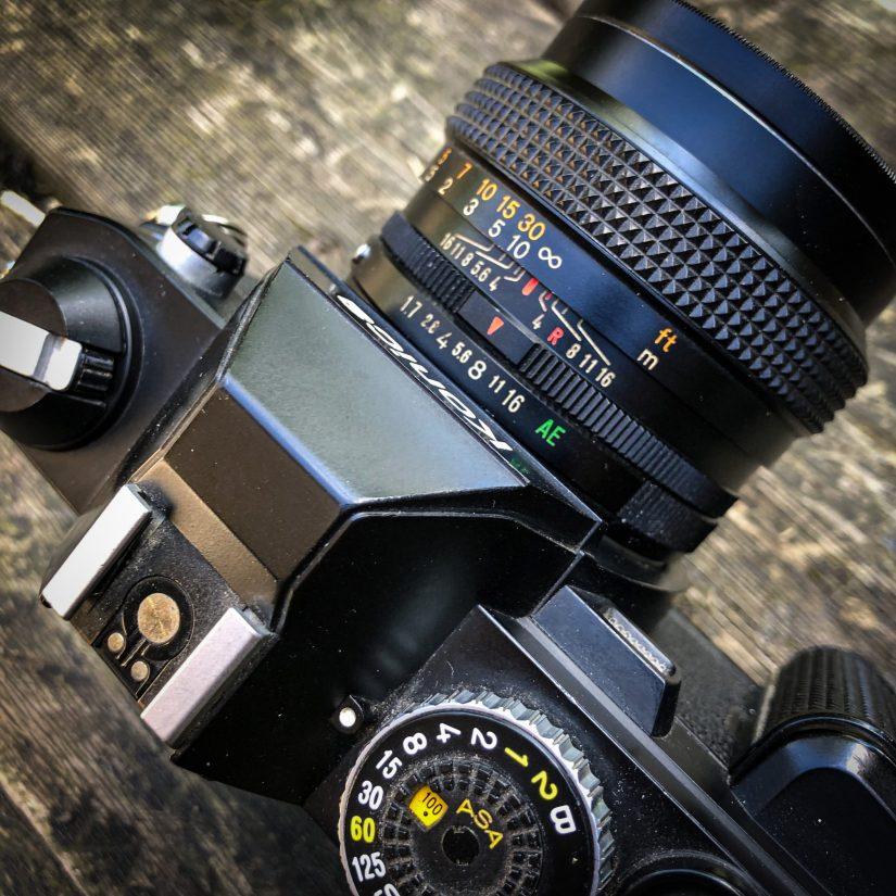 Konica FS-1 aperture ring