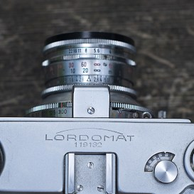 Lordomat lens detail