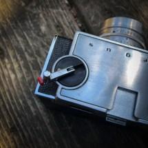 Argus C33 rewind knob lever