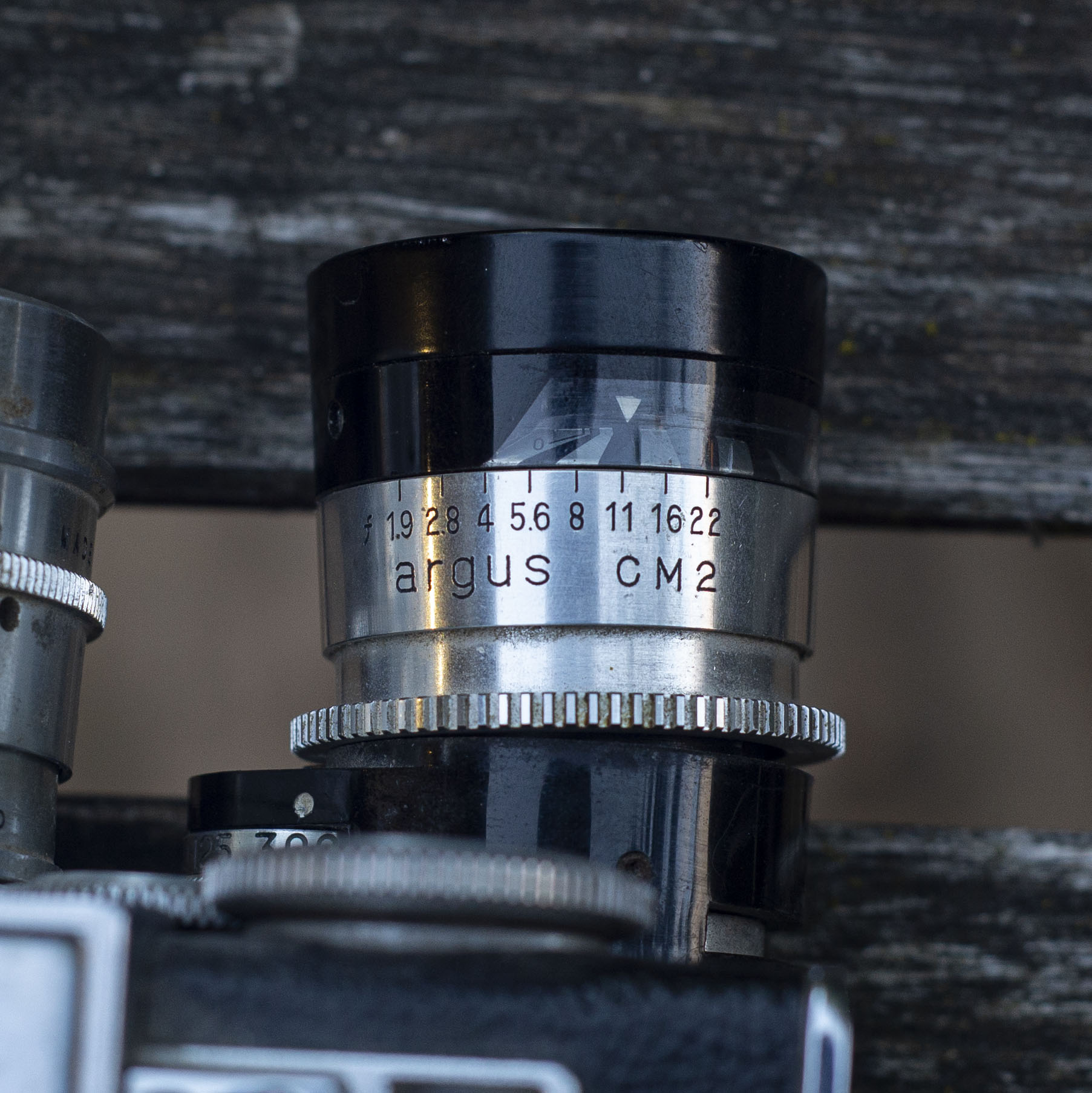 Argus C33 light meter